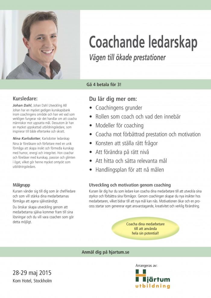 Coachande förhållningssätt coachande ledarskap
